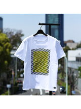 【Keiichi Tamura】幾何学柄プリントTシャツ