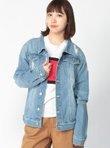 (W)AZ by junhashimoto/Crash Jean jacket