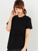 HanesジャパンフィットクルーネックTシャツ2枚組(ブラック)/Hanes 2P JPNfit C/N-T BK