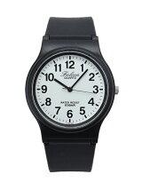 Q&Q プラスチックバンド腕時計