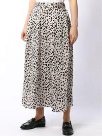 (W)レオパセミフレアスカート グローバルワーク スカート【送料無料】