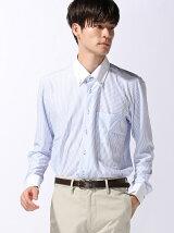 (M)アイシャツ P‐100 ボタンダウン 長袖