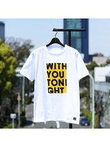 【Keiichi Tamura】WITH YOU TONIGHTプリントTシャツ
