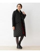 Traditional Weatherwear キルティングステンカラーコート
