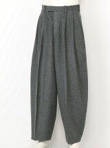 FLANO WOOL BALLON TROUSERS