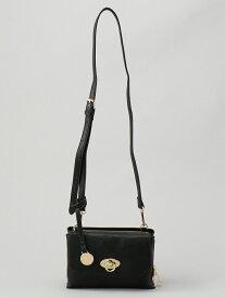 (L)カシュカシュ cachecache/リングヒネリ金具お財布ショルダー アンビリオン バッグ【送料無料】