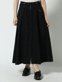 cepo CEPO/(W)デニムREZIPスカート セポ スカート デニムスカート ブラック ブルー【送料無料】