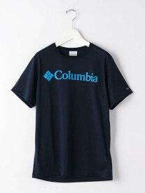 【SALE/30%OFF】UNITED ARROWS green label relaxing [コロンビア]SCColumbiaロゴTシャツカットソー ユナイテッドアローズ グリーンレーベルリラクシング カットソー Tシャツ ネイビー