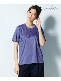 【SALE/30%OFF】自由区 【Unfilo】ビッグロゴ Tシャツ ジユウク カットソー Tシャツ ブルー ホワイト ブラック【送料無料】