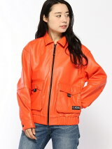 ZIPUP LEATHER JACKET