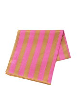 シルク綿ストライプスカーフ