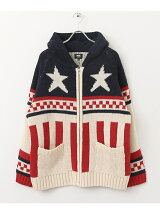 VANS Stars&StripesZIP-UP Knit