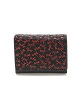 印伝二つ折り財布(小銭入れ有り)
