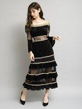ベアロングワンピース[DRESS/ドレス]