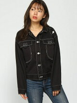 CROPPED WIDE JKT W/B