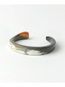 on the sunny side Horn Twisted Bangle