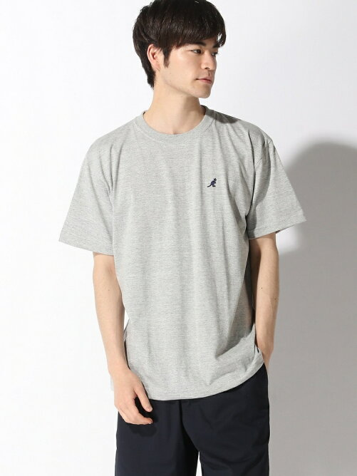 KANGOL/(U)KG ONE POINT TEE