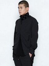 ZIP UP BLOUSON_CHECKERD FLAG