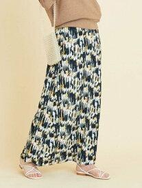 【SALE/50%OFF】BEAUTY & YOUTH UNITED ARROWS 【別注】<TOWN> プリントマキシスカート ビューティ&ユース ユナイテッドアローズ スカート ロングスカート ブラック【送料無料】