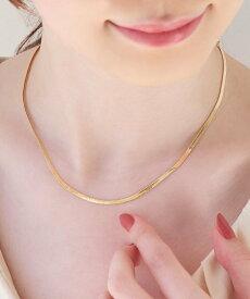 Phoebe Phoebe/(W)スタイリッシュスネークチェーンネックレス ゴールド ジュエルアディクト アクセサリー