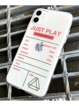 【JUST PLAY】iPhoneケース