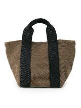 紐編みトートバッグ