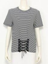 編み上げTシャツ