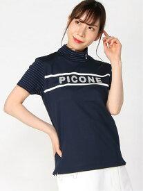【SALE/40%OFF】Picone Club Picone Club/(W)ハイネックプル(H) ピッコーネクラブ カットソー カットソーその他 ネイビー ホワイト【送料無料】