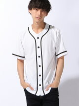 【JUNIOR SWEET】(M)メッシュベースボールシャツ