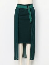 シフォンかぶせスカート