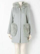 【sw】FOXファーポケットコート