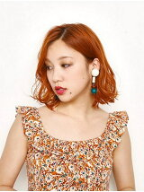 COLOR ACRYL EARRING