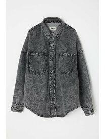 【SALE/37%OFF】SLY BLEACH DENIM SH JK-E スライ コート/ジャケット デニムジャケット ブラック ピンク グリーン【送料無料】