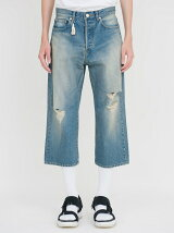 *GAUCHO DENIM PANTS