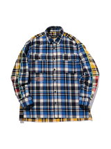 24karats/(M)Multi Check Shirt LS