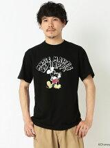 FUJI ROCK FESTIVAL'17 × BEAMS / Yusuke Hanai ミッキーマウス Let It Rock! Tee Shirts