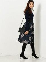★JOC フラワージャカード スカート / 花柄 / フレアスカート