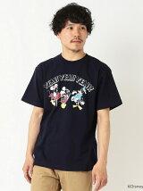 FUJI ROCK FESTIVAL'17 × BEAMS / Yusuke Hanai ミッキーマウス YEAH YEAH YEAH! Tee Shirts