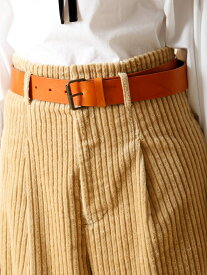 INED 【秋の新作】スクエアバックルベルト【CLUEL10月号掲載】 イネド ファッショングッズ【送料無料】