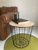 ワイヤー2WAY TABLE BASKET L