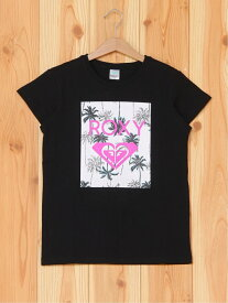 【SALE/45%OFF】ROXY (K)MINI SQUARE LOGO ロキシー カットソー キッズカットソー ブラック ピンク ホワイト