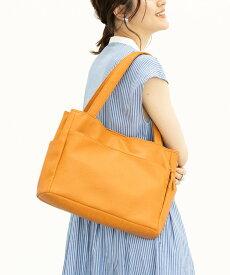 【SALE/5%OFF】GeeRA 【多収納】10ポケットトートバッグ ジーラ バッグ トートバッグ イエロー ブラウン ブラック グリーン ホワイト ネイビー オレンジ レッド