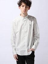(M)ドットプリントシャツ