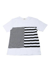 ALOYE / Dots & Stripes Short Sleeve Tee