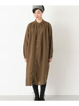ICHI Antiquites LINEN PERSIMMON ONE-PIECE