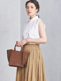UNITED ARROWS UWCS ABACA スクエア トートバッグ† ユナイテッドアローズ バッグ【先行予約】*【送料無料】