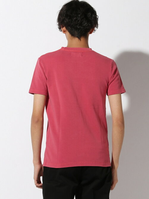 PALM/STRIPES/(U)P/D Pocket TEE