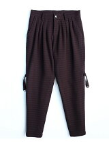 WOOL JQ BONDAGE PANTS