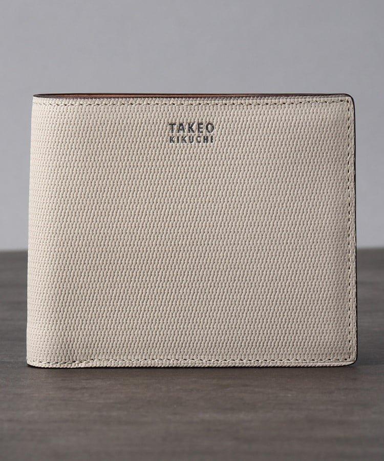 TAKEO KIKUCHI ミニメッシュ2つ折り財布 [ メンズ 財布 サイフ 定番 二つ折り ギフト プレゼント ] タケオキクチ 財布/小物【送料無料】