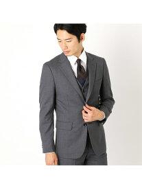 【SALE/55%OFF】COMME CA ISM 〈セットアップ対応〉ウールギャバ スーツジャケット コムサイズム ビジネス/フォーマル セットアップスーツ グレー ブラック ネイビー【送料無料】
